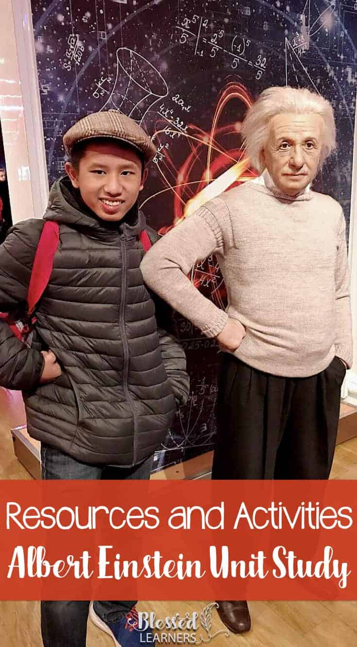 He is a famousscientist, and he is also a music lover. He has so many inspirational quotes. Today I would like to share some resources and activities for Albert Einstein unit study to engage children in learning more about this character.