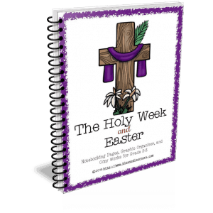 The Holy Week and Easter Notebooking Pages