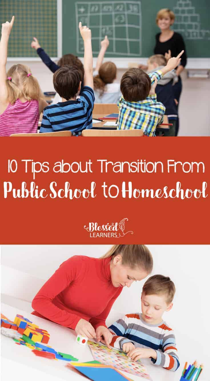Starting to homeschool children after they attend the public school is much harder rather than when children never attend the public school. The hardest part is the transition from public school to homeschool.