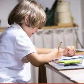 There's nothing wrong with learning to adapt your homeschool schedule to the needs of your children. There are many homeschoolers who opt to homeschool at night. We find a lot of benefits of homeschooling at night occasionally.