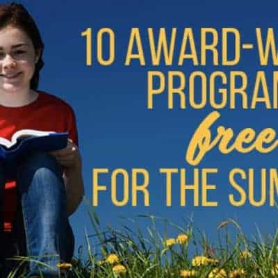 Summer Learning: 10 Award Winning Program FREE for the Summer