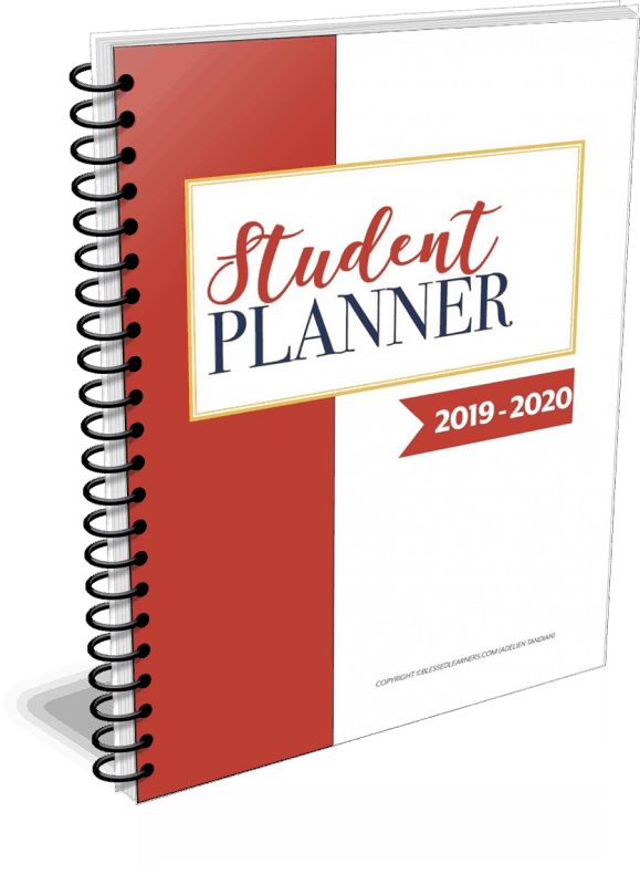 There were some questions I got from my readers about our student planner that you might want to know as well. Here are some common FAQ about Our Student Planner