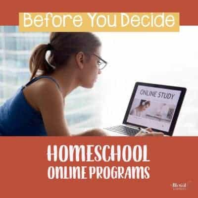 Before You Decide Homeschool Online Programs