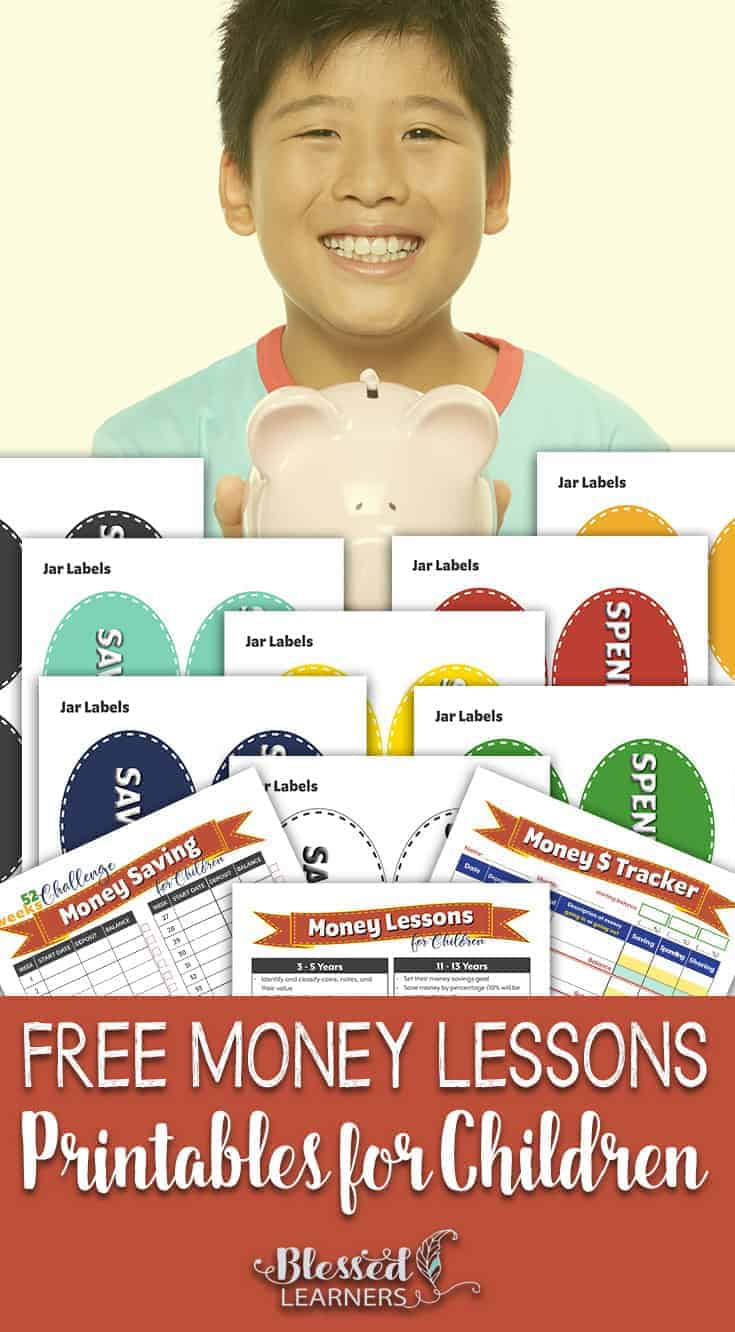 Children need to know about money, finance, and also market because they are life skills everyone needs in the real life. Here is a set of free money lesson printables for children for you to deliver some financial literacy lessons