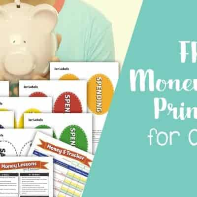 Free Money Lesson Printables for Children