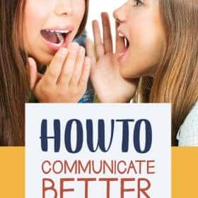 Communicating is different from talking because it involves a lot of explaining why you feel the way you do and even more listening to how the other person feels and why. Here are some tips onHow to Communicate Better with Your Children #Parenting #ConversationIdeas #Printable