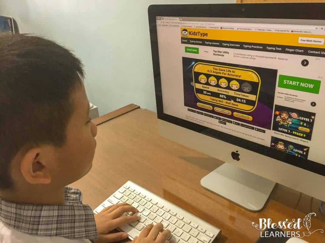 Typing skill becomes demanding for everybody because it enables you to type faster, easier, and without any effort. To teach children touch-typing for free, I was trying to get a fun program and I am very glad that we recently find the free KidzType Typing Games.