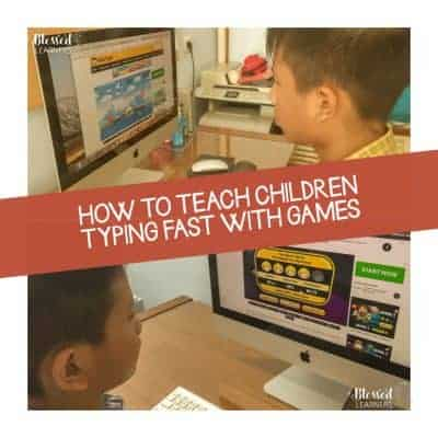 How to Teach Children Typing Fast with Games