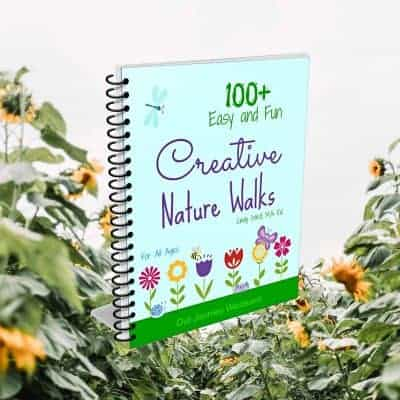 I would like to share 100+Easy and Fun Creative Nature Walk Ideas for all Ages. I am sure everyone will get more inspiration for doing the nature walk activities after reading this book.