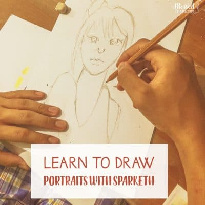 Learn to Draw Portrait with Sparketh