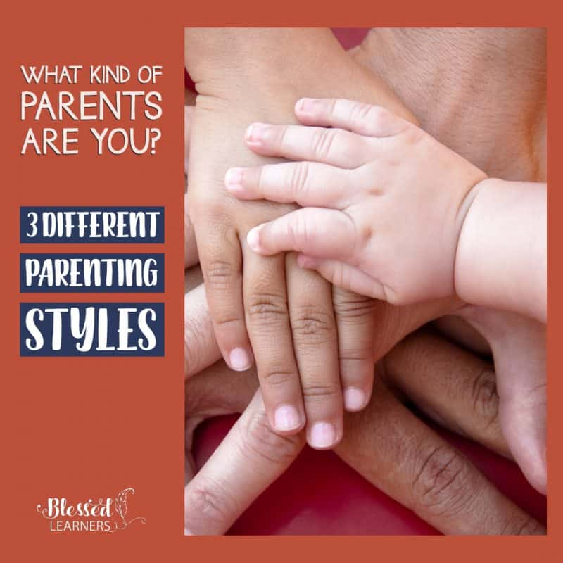 Parenting styles will affect the way children grow and how the family flow. Here are three different parenting styles you will need to know so you won't loss: The permissive parenting, authoritative parenting, and authoritarian parenting