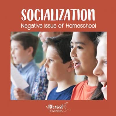"There are more negative issues and responses directed to the homeschool family that we need to face from the time we decide to homeschool than the positive ones. This post is a sharing about the negative issue of homeschool, ""What about socialization?"" #Homeschool #Socialization #HomeschoolFamily #ConsHomeschool"