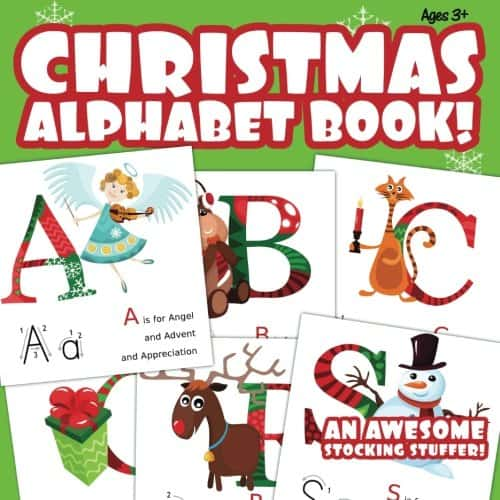 Christmas Alphabet Book!: An Awesome Stocking Stuffer!