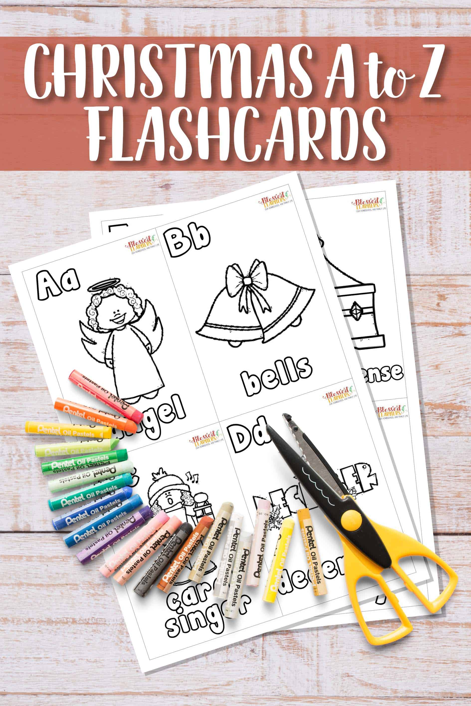 Christmas can be a completely fun holiday for children and yourself, but it doesn't have to stop your little people to learn. With the Christmas theme, the young preschoolers still can learn the alphabets. Today I would like to share a set of free Christmas Alphabet Flashcards #Printable #Christmas #Alphabets #Flashcards