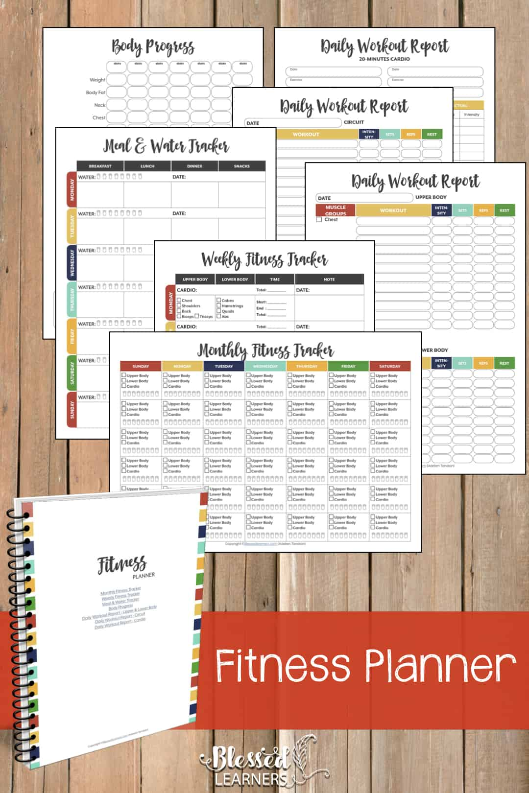 The Ultimate Life Planner Organizer for Moms is the perfect solution to getting most aspects of your home-and-work life well organized. A total of 230+ printable pages you can customize to use are included in the digital file. | FitnessPlanner | #Planner #Printable #TimeManagement #Organizer