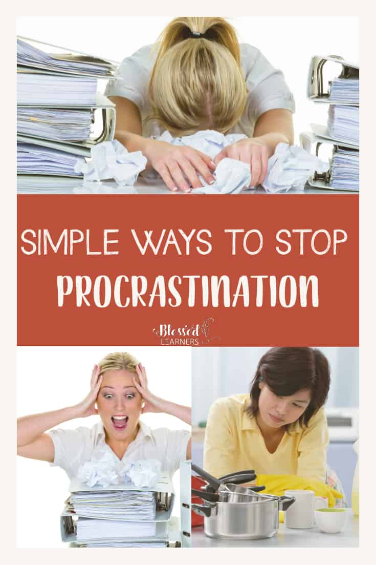 Procrastination is something that impacts everyone at one point or another in their life, today I want to give some simple ways to stop procrastination to those who suffer from constant procrastination and need a solution to try to be better about getting things done in a timely fashion. #TimeManagement #IntentionalLife #Procrastination #Planner