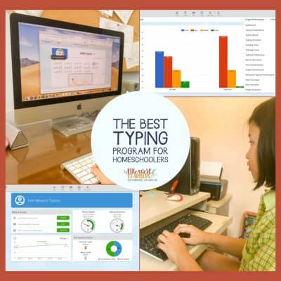 The Best Typing Program for Homeschoolers