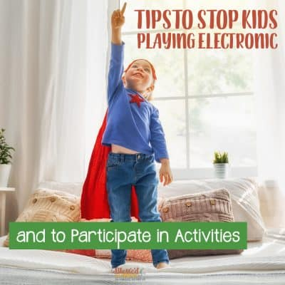 In our current technologically driven world, it can be difficult to encourage kids to stop playing electronic and to participate in activities beyond screen time. If you're a parent struggling with finding ways to encourage your kids to participate in activities, then you need to read these tips.