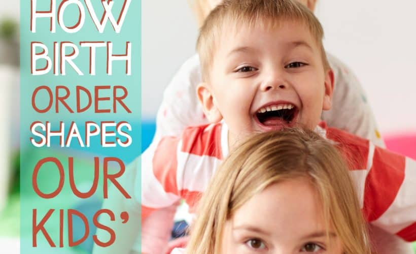 Learning more about how birth order shapes our kids' personalities helps us understand why each child acts differently or handles situations differently. Today we're going to dig deep into the topic of how birth order and personality traits are related to shape our kids' characters.
