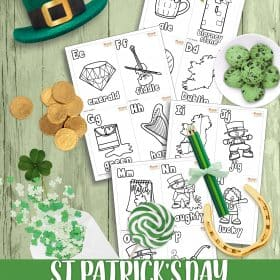 St. Patrick's day is celebrated by some people around the world. There is a lot of interesting objects around this holiday. Today I would like to share a set of free St. Patrick's Day Alphabet Flashcards. #StPatricksDay #Printable #Alphabets