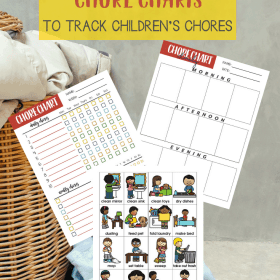 Here is a set of FREE Printable Chore Charts for both parents and children to track the personal habits growth, weekly, and daily chores #Homeschool #Parenting #FrePrintables #ChoreChart