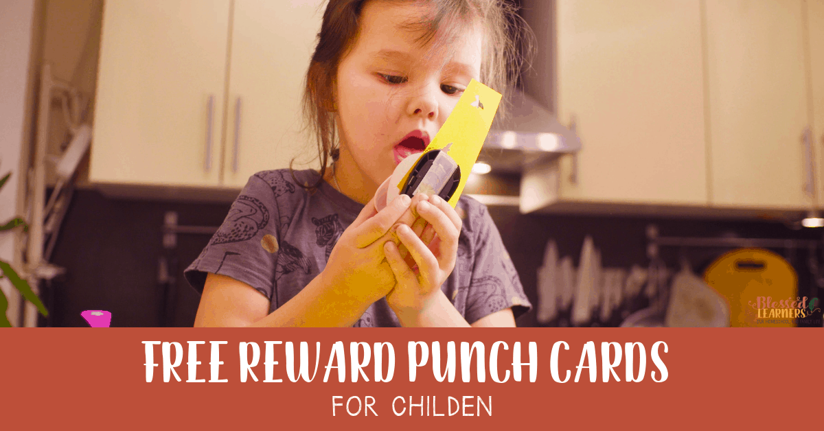 Reward punch cards for children is an incentive to motivate then to do several things that you expect them to do. Today I am giving away free reward punch cards for children. #Printable #Parenting #PunchCards #Chores