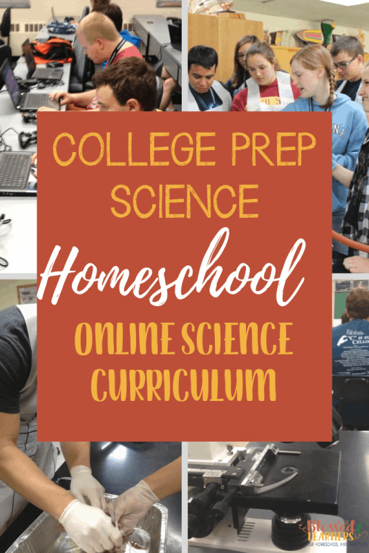 College Prep Science will be a great homeschool online science curriculum