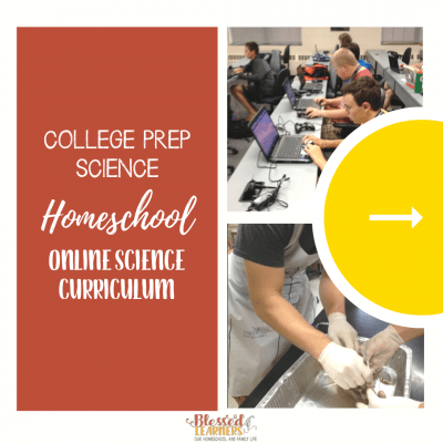 College Prep Science: Homeschool Online Science Curriculum