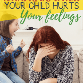 When it comes to raising children there will be times when children hurt your feelings. It can happen at any time or age of the children. Has it happened to you? I have experienced it a lot of times in my life as a mother. Today I would like to share some tips about what to do when your child hurts your feelings. #Parenting #Homeschool #iHSNet
