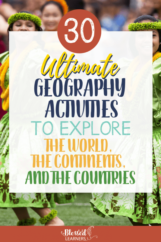 Mapping activity is not the only way Exploring the World, The Continents, and The Countries. There are some other exciting activity ideas to explore the world and to engage geography. Here are 30 World, Continent and Country Study Teaching Ideas #Geography #Homeschool #ihsNet