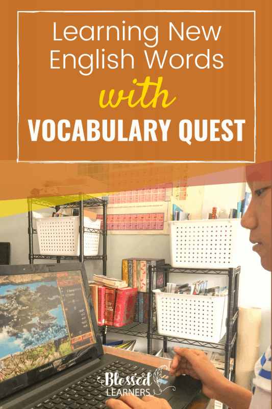 Vocabulary Quest, English Vocabulary program for middle school