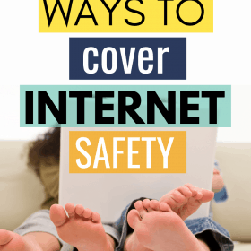 Our children are growing up in the digital age. This means not only do we have to teach our children to be safe in the real world; we also have to teach internet safety. #Parenting #InternetSafety