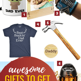 I'm featuring a list of creative and fun Father's day gift ideas that you can gift to that special dad in your life.