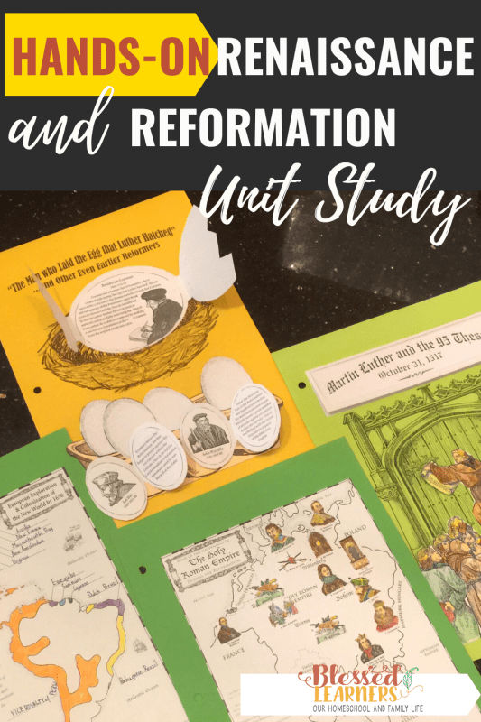 Get a wonderful experience in learning World history with this Hands-on Project Passport: Renaissance & Reformation Unit Study from Homeschool in The Wood.