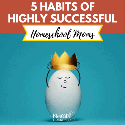 5 Habits of Highly Successful Homeschool Moms