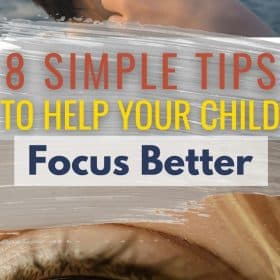 Having good concentration and focus skills are something that many children struggle with. Parents might need to help the child focus better.