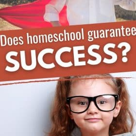 There is a stereotype for some people that homeschool gives more chances for people to be more successful. Does homeschool guarantee success? #Homeschool #Success #Parenting