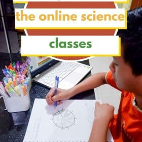 The online homeschool science classes from College Prep Science help our middle school kids to learn science more seriously.
