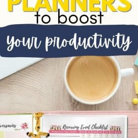 With these 5 quick tips for using planners, you can refresh your motivations to be more organized and maintain your planning habits. #Timemanagement #Productivity #Planner #BulletJournal