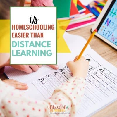 Is homeschooling easier than distance learning?